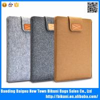 High quality fashion wool felt laptop sleeve