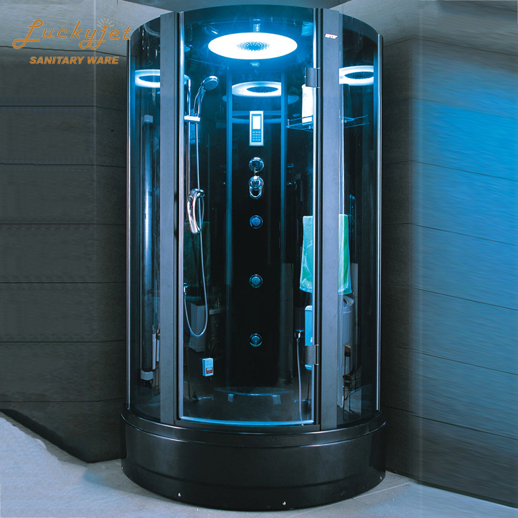 Luxury Family Deluxe Multi-Functional Enclosed Whirlpool Steam Shower Room