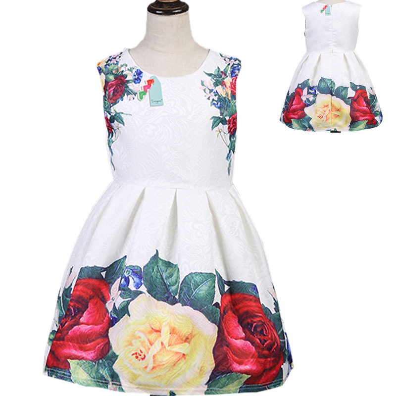 Chinese Style Children Kids Dresses Baby Girl Party Dress Children Frocks Designs One Piece Girls Party Dresses
