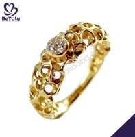hot sale fashion desing ring jewelry 14k gold ring