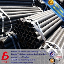 thick wall Q195/Q235/Q345 welded black iron sch40 carbon pipe