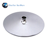 Metal swivel chrome round chair base for office chair