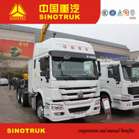 Sinotruk 336HP Tractor Truck and semi trailer for sale in Africa