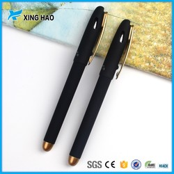 china factory direct provide good quality with metal clip plastic ball pen for hotel /bank