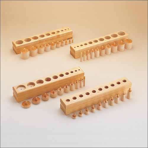 Cylinder Blocks Montessori Products