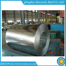zero small big spangle z275 high quality hot dip galvanized steel sheet coil for roofing sheet