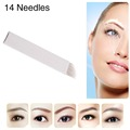 CHUSE Eyebrow Tattoo Microblade Needle 14 Pins For Shape