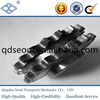 ISO ANSI standard pitch 25.4mm 16A duplex roller chain 20T harden treatment drive sprocket