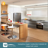 2015 american style plywood carcass ,door panel lacquer mdf kitchen cabinets direct from china