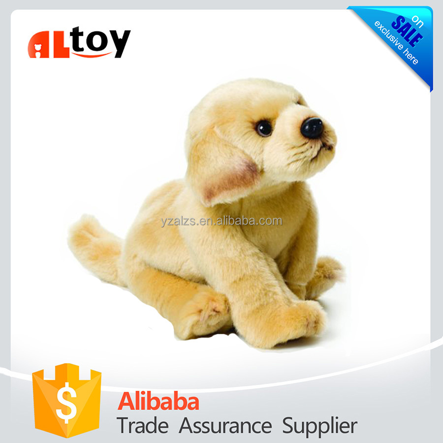 Yellow Labrador Plush Animal Toy