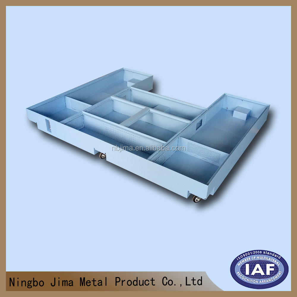 ISO Chinese mild steel and stainless steel sheet metal fabricator