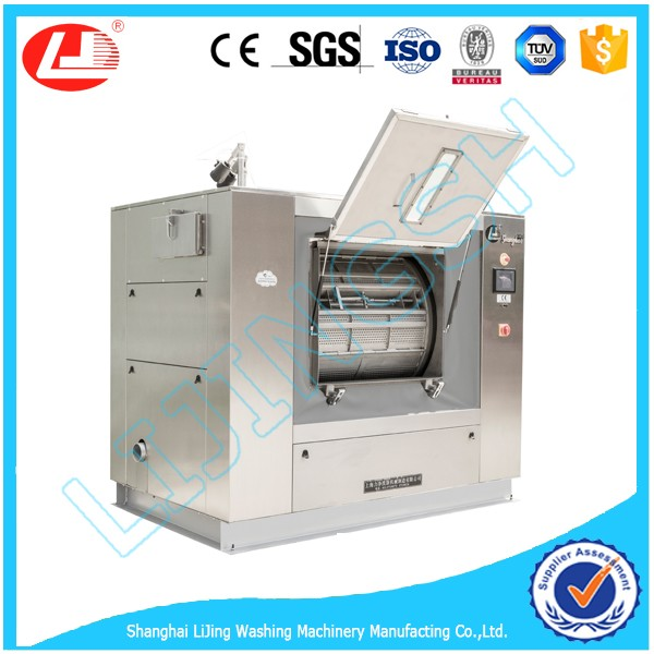 LJ 35kg-300KG Hospital washing machine Electric,Steam,Hot water heating, Big capacity industrial washer