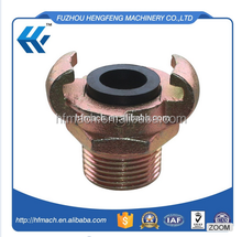 New arrival us type air hose coupling /euro hose end claw couplings