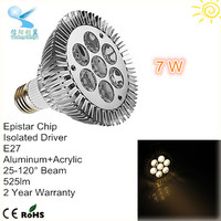 led lamp ac220v high power led par30 7w e27 led spot light bulbs spot led