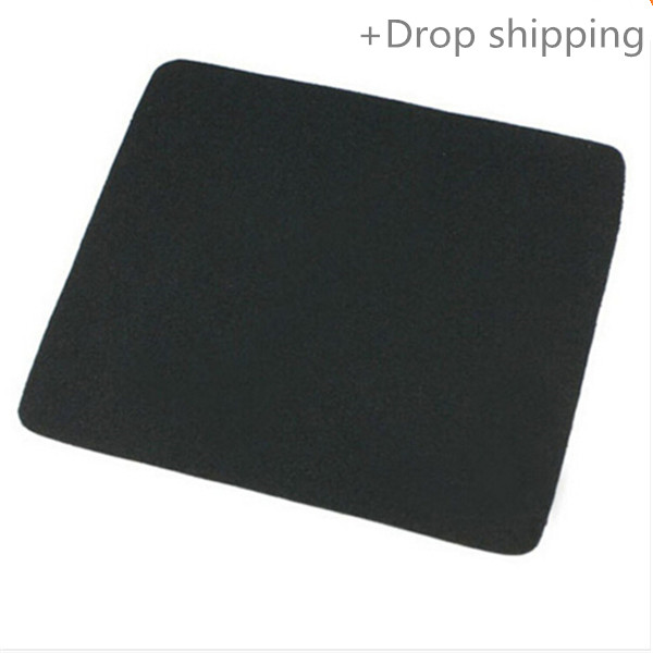 Malloom Black Gaming Mouse Pad for Laptop Computer Tablet PCBrand New Pro Gamer 22*18cm Universal Rubber Material Mouse Pad Mat