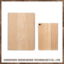 Wooden carved hard PC real wood phone case tablet cover for iPad air