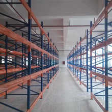powder coating finished united steel products pallet racks