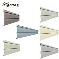 Best cheapest price decorative DIY Plastic PVC Vinyl Siding Exterior clip panel Curtain Walls exterior wall cladding board