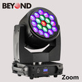 Guangzhou offer moving head stage lighting wash 19pcs 40w 4in1 rgbw wash led light