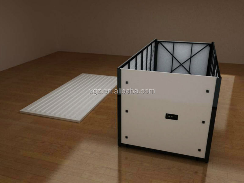 Prefab Collapsible container warehouse storage shed