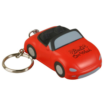 keychain car PU Stress reliever ball Slow rising squishy