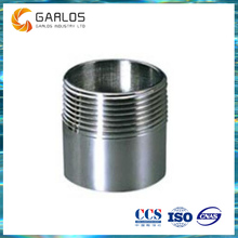 N-SS-03 Male thread tube straight through connector coupling