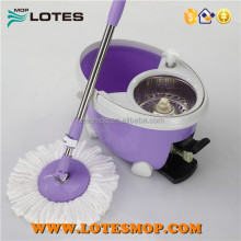 Microfiber mop Stainless Steel Basket Spin magic Mop