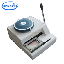 Portable embossing machine