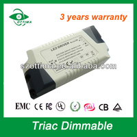 Shenzhen 230 volt constant voltage triac dimmable led driver 12v 1500ma