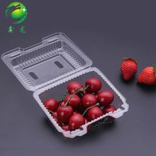 Folding Plastic Fruit Box Container With Lid