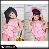 Exquisitely Specificity Ruffle Young Children Models Girls Sexy Kids Bikini