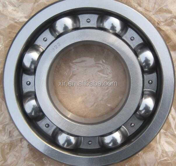 Deep groove ball bearing 6322 chrome steel bearing ABEC-1