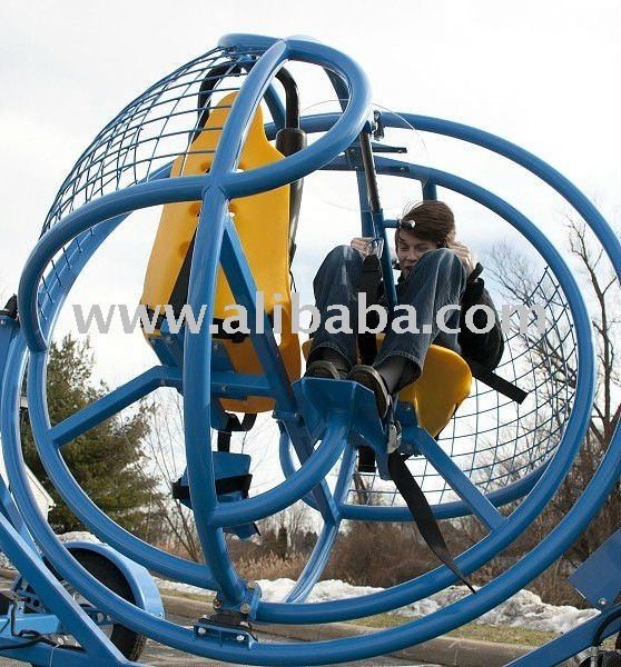 Human Gyroscope Ride