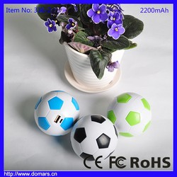 So Cute Football Shape Power Bank Soccer Mobile Accessories For Christmas Gift