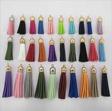 Yongze wholesale high quality suede South Korea Velvet decorative bulk tassels keys fringe leather tassels for jewelry