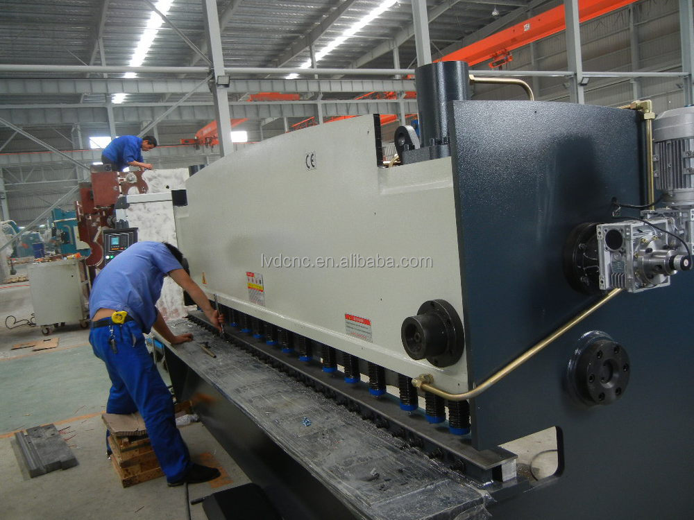 Widely used amada cnc shearing machine with high precision stainless steel sheet shearing machine