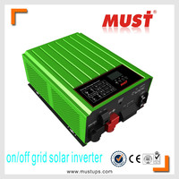 Combining solar system, AC utility and battery power source to supply continuous power on/off Grid solar inverter 2KW to 6KW