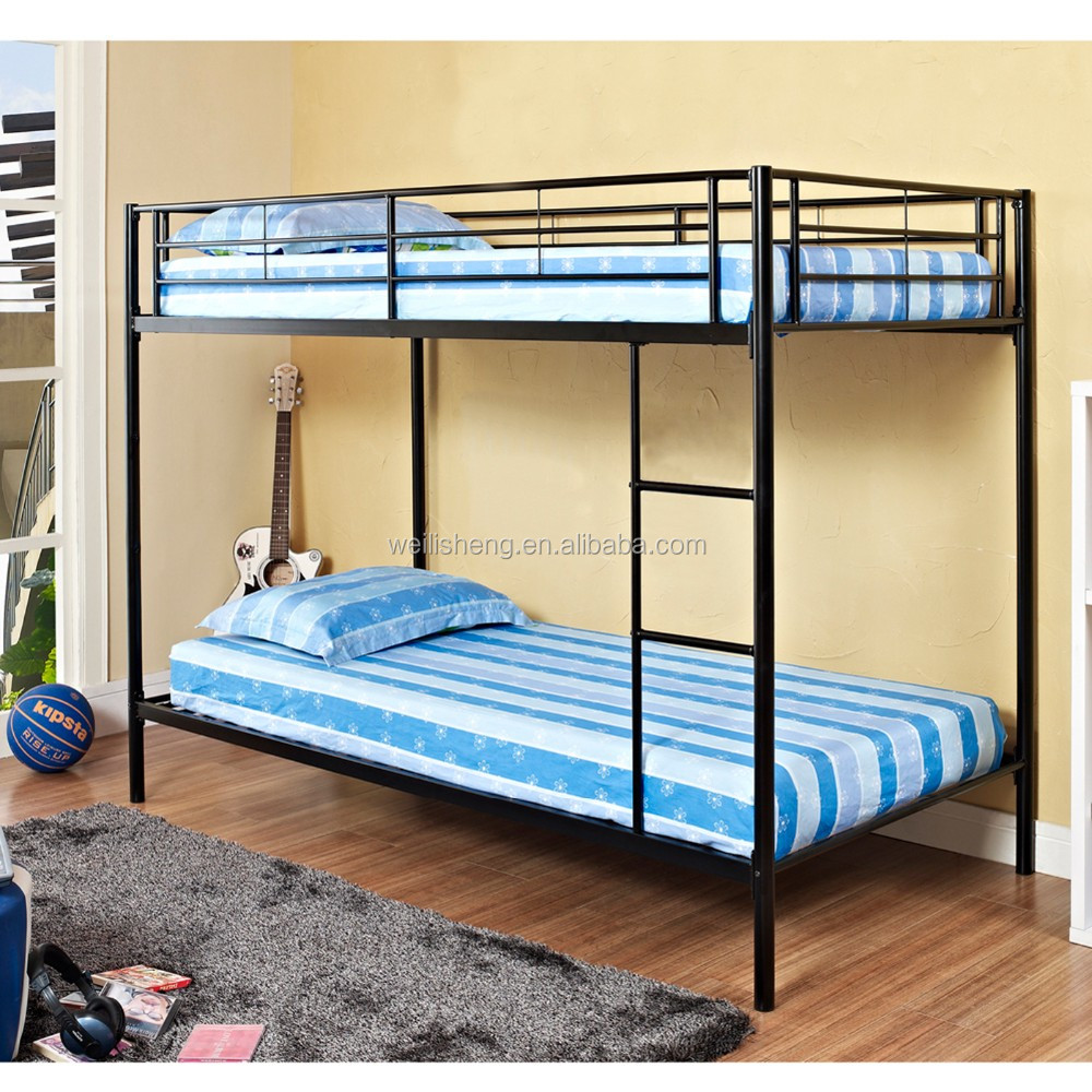 China supplier double bunk beds for adults strong metal bunk beds