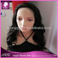 Worldwide popular Brazilian remy human hair lace front wig
