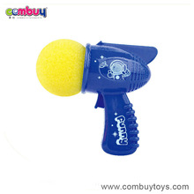 Cheap plastic space gun shooting foam ball gun toy
