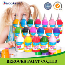 C.Green hot selling private label acrylic puffy paint for china supplier