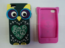 3D embossing beautiful creative silicone mobile phone case