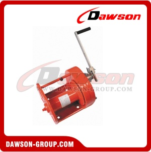 worm gear hand pulling winch with ce certificate for sale