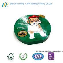 creative animal shape plain box chocolate food packaging cardboard paper gift box with rope