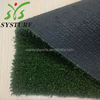 10 mm height artificial grass for basketballfield with high density