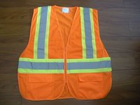 Safety Vest Pallets of Clothing