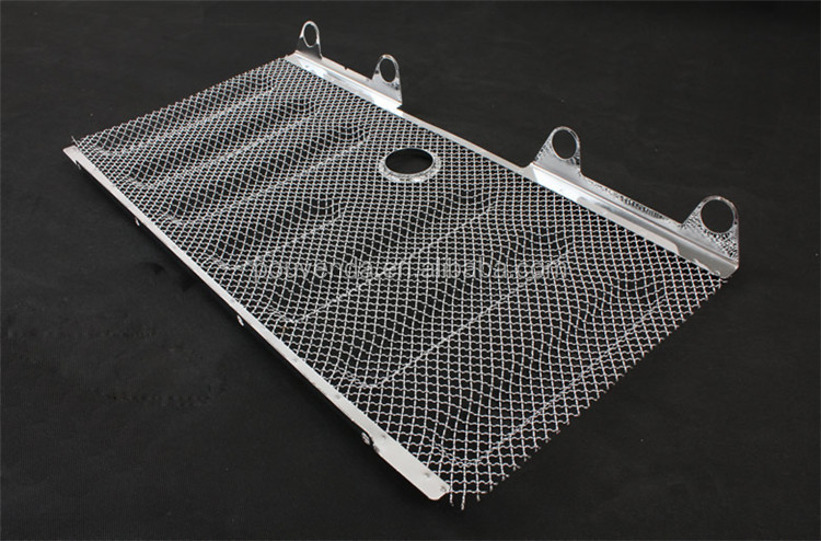 car Mesh grille insect nets For Jeep Wrangler JK 2011+