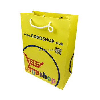 Guangzhou Manufacturer Custom Logo Printed High Quality Packing Paper Bags for Gifts and Shopping