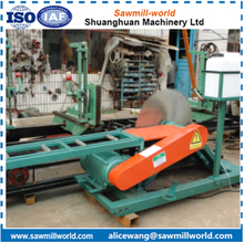 CNC Circular Saw Machine With Carriage Wood Machine For Log Cutting