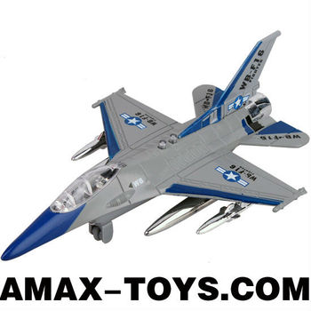 DP-1037835 diecast plane model 1:32 Emulational Die Cast Pull Back Plane with Sound and Light